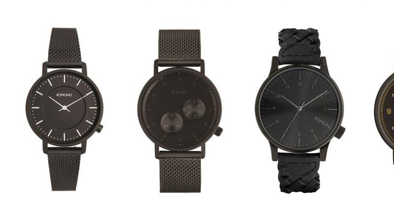 cbe5d4fb2 Černá de luxe na mnoho způsobů v nové kolekci All Black od Komono ...