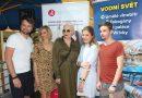 Josef Vágner, Ivana Jirešová, Kateřina Kornová a Anička Slováčková podpořili akci pro maminky samoživitelky