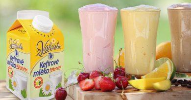 Osvěžte se v horkém létě novými recepty z Mlékárny Valašské Meziříčí