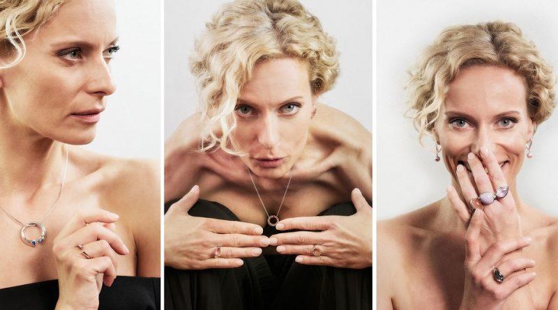 Kristina Kloubková září v kolekci šperků Esterstyl. Poradíme, vám jak nosit šperky a jakých chyb se vyvarovat!