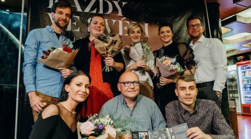 Lucie Polišenská, Bára Poláková, Gábina Partyšová i Jan Kříž pokřtili zajímavou audionahrávku mladého umělce Martina Johanny