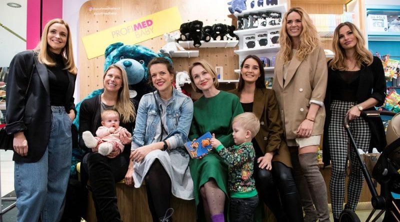 Slavné maminky slavnostně otevřely obchod s produkty pro nejmenší PROFIMED Baby