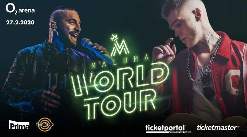 Již tento čtvrtek vystoupí hudební idol Maluma s Mikolasem Josefem v O2 aréně