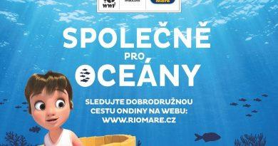 Společně pro oceány je nový projekt Rio Mare a Světového fondu na ochranu přírody
