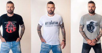 Fotbalista Řepka vyvádá exluzivní kolekci oblečení!