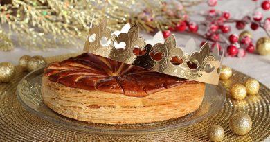 Vánoční dezert ve francouzském stylu – Galette des Rois (Tříkrálový koláč)