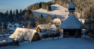 Zima na Valašsku? Běžky i luxusní wellness!