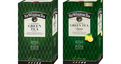 Radost a zdraví v zeleném čaji Sir Winston Green Tea