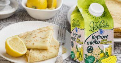 Nové Kefírové mléko nízkotučné citron, bezový květ z Valašska