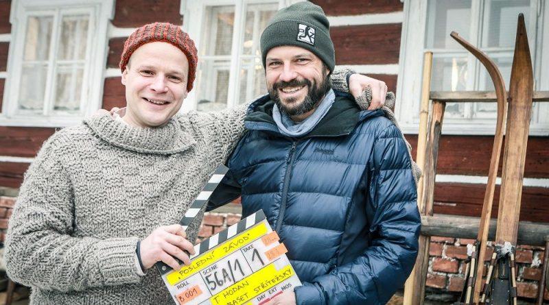 První klapka filmu Poslední závod s Kryštofem Hádkem v hlavní roli padla o uplynulém víkendu