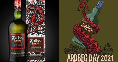 U příležitosti oslav Ardbeg Day odhaluje palírna Ardbeg novou limitovanou edici whisky Ardbeg Scorch