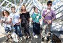 Ivanu Chýlkovou sHanou Holišovou a Davidem Krausem uchvátila stavba psího útulku Gump