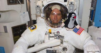 Před 10 roky letěl Krtek poprvé do kosmu
