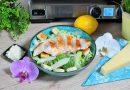 Lehký a chutný oběď na grilu nebo večeře, to je Caesar salát