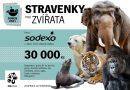 Sodexo podpořilo stravenkami zvířata vzoo