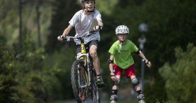 Jak děti motivovat k jízdě na kole