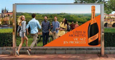 Prosecco Mionetto v ČR láme rekordy ve spotřebě. Nyní spouští novou globální kampaň, jako první odstartovala u nás