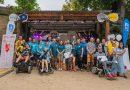 """Spolek ALSA díky závodu """"Prague City Swim"""" vybral na pomoc propacientysALS téměř 350000 Kč a přilákal 750 účastníků"""