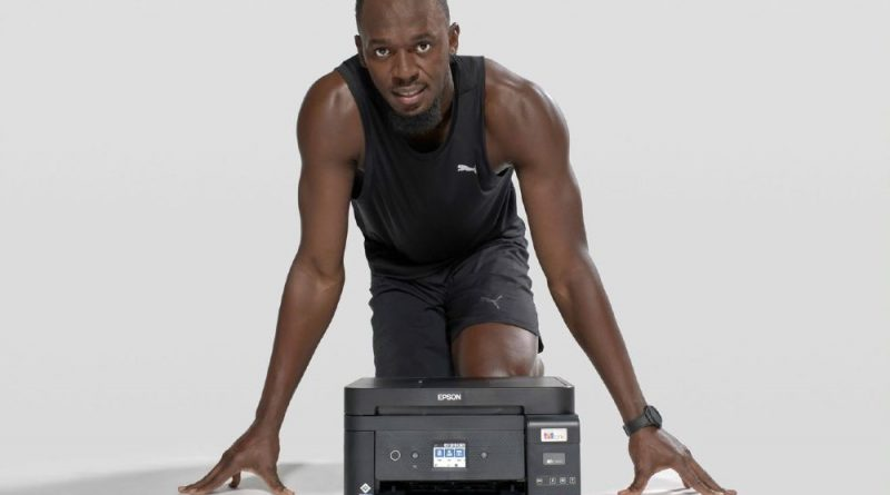 Epson s Usainem Boltem propagují tisk bez inkoustových kazet